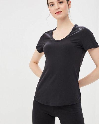 Спортивная футболка черная Reebok