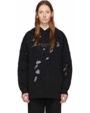 Bluza z kapturem z kapturem złoto Givenchy
