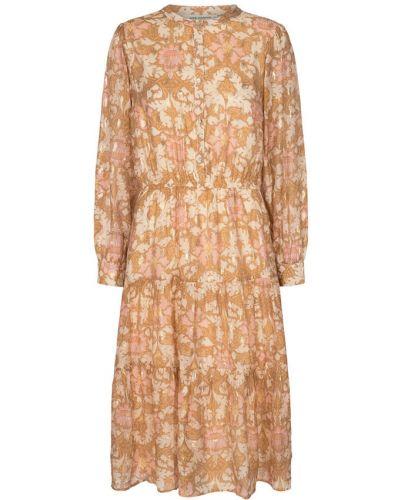 Sukienka - pomarańczowa Sofie Schnoor