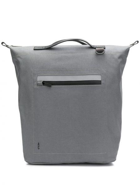 Нейлоновая кожаная сумка круглая Ally Capellino