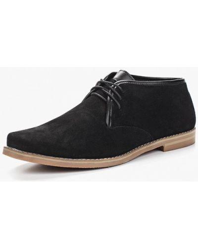 Черные ботинки Elong