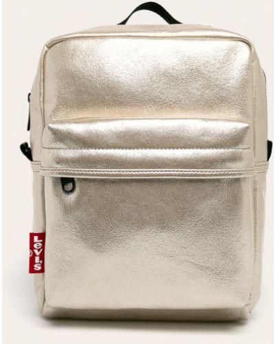 Кожаный рюкзак золотой из искусственной кожи Levi's®