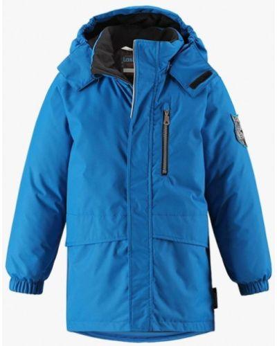 Синяя куртка теплая Lassie