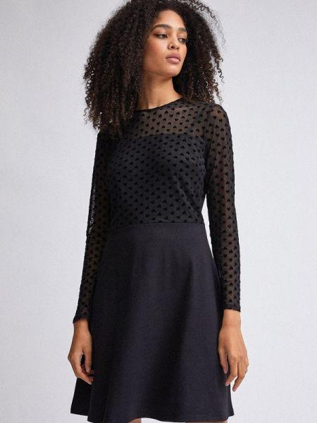 Платье прямое черное Dorothy Perkins