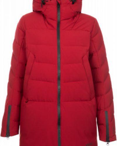 Прямая красная куртка горнолыжная VÖlkl