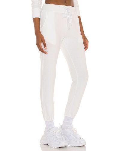Białe joggery bawełniane vintage Daydreamer