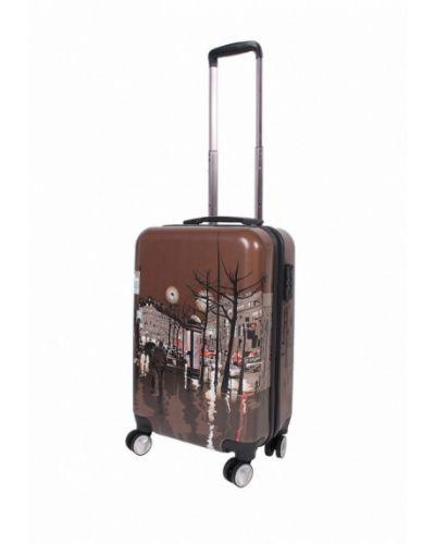 Коричневый чемодан Sunvoyage