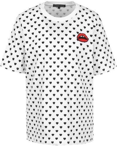 Белая свободная футболка Markus Lupfer