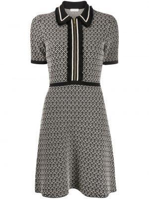 Платье с воротником - черное Sandro Paris