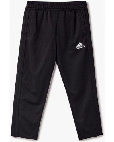 Черные брюки спортивные Adidas