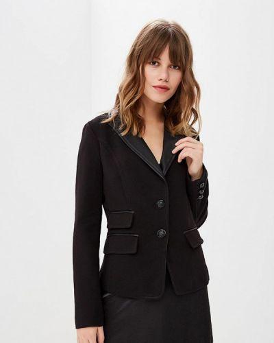 Черный пиджак осенний Softy