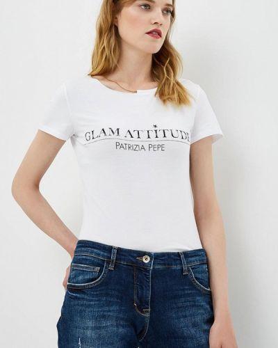 Белая футболка Patrizia Pepe