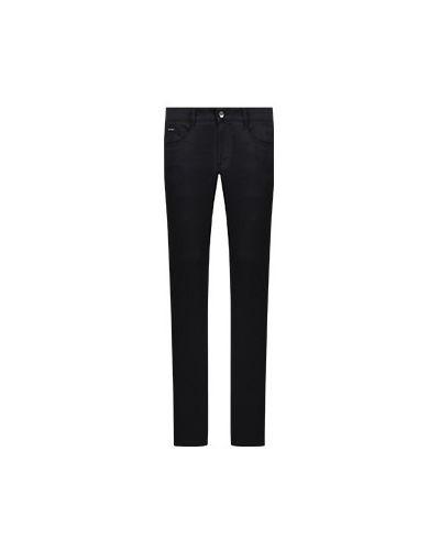 Хлопковые брюки - синие Dolce&gabbana