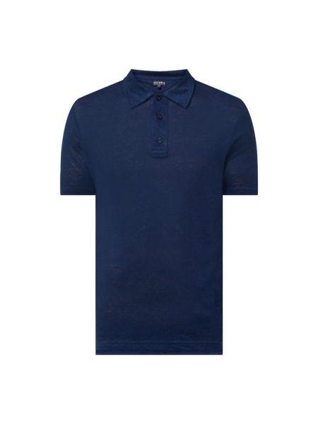 Niebieski t-shirt Zeybra