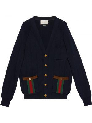 Kardigan - niebieski Gucci
