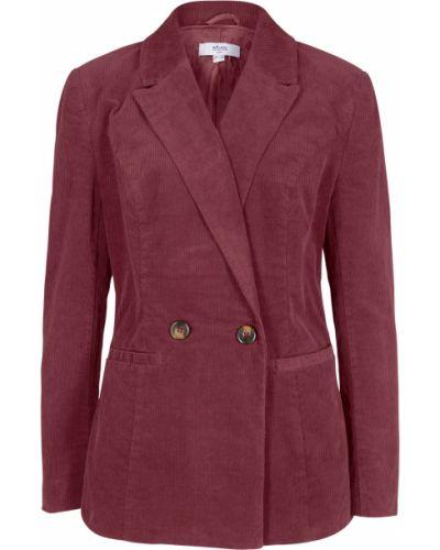 Красный пиджак вельветовый Bonprix