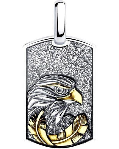 Медальон золотой Sokolov