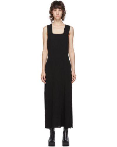 Платье макси с открытой спиной на бретелях без рукавов из крепа Raquel Allegra