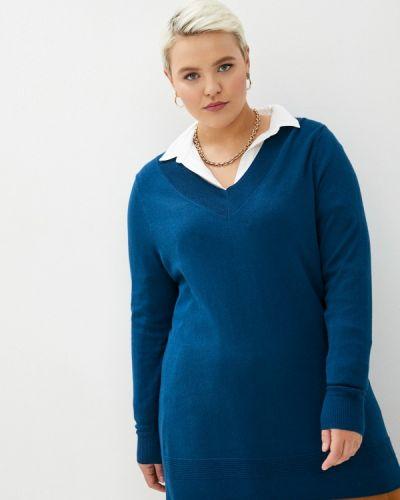 Синий пуловер Evans