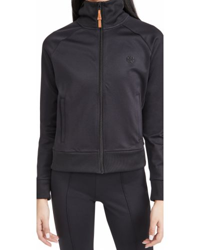Текстильная черная спортивная куртка с карманами Tory Sport