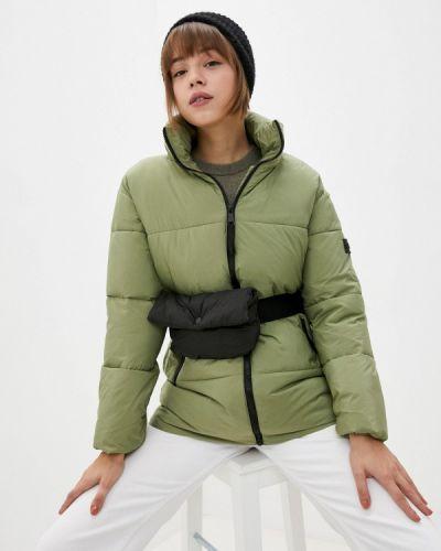 Зеленая утепленная куртка Savage