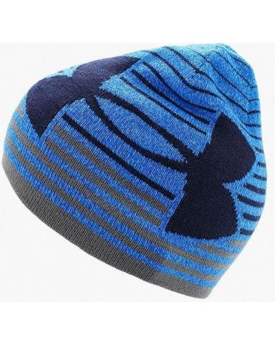 Синяя шапка Under Armour