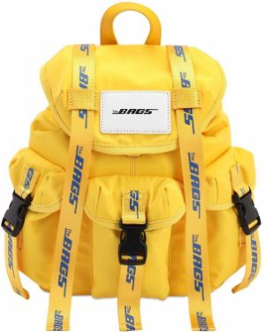 Żółty torebka mini klamry The Bags