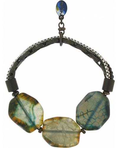 Браслет с камнями - зеленый Nature Bijoux