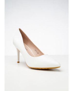 Белые туфли новогодние Meitesi
