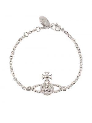 Браслет металлический - серебряный Vivienne Westwood