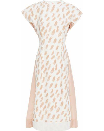 Шелковое платье миди Marni