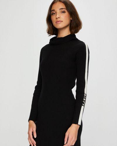 Платье мини облегающее из вискозы Miss Sixty