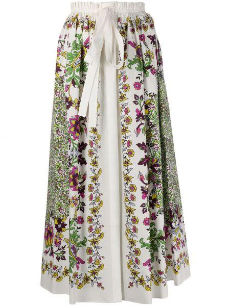 Юбка миди с завышенной талией с цветочным принтом Givenchy