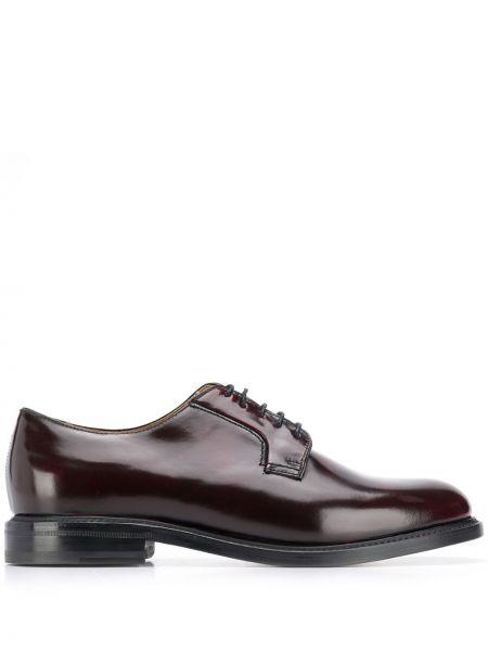 Туфли на шнуровке коричневый Berwick Shoes