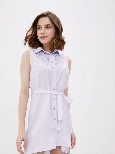 Платье платье-рубашка весеннее D'she
