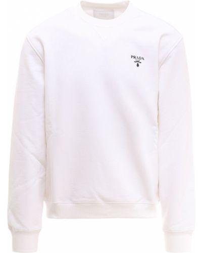 Biała bluza Prada