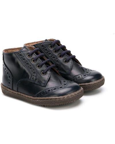 Ботинки синие Pèpè