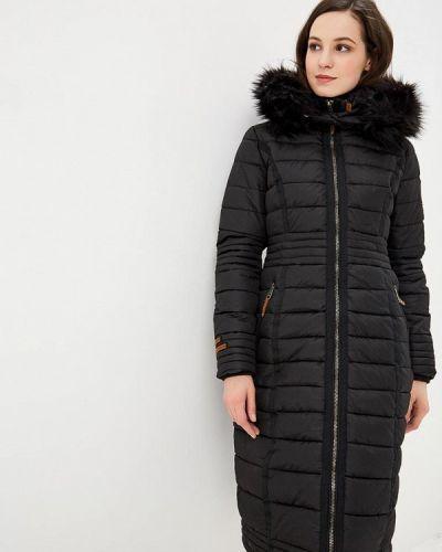 Зимняя куртка утепленная черная Navahoo