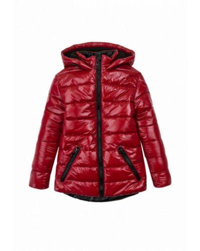 Утепленная красная куртка Garnamama