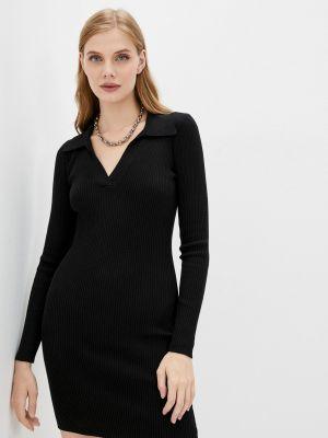 Вязаное платье - черное Twist & Tango