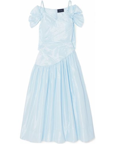 Платье с карманами - синее Simone Rocha