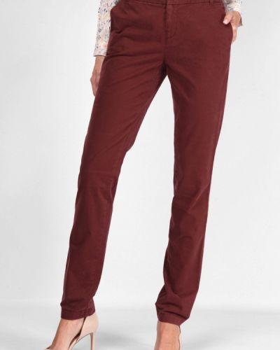 Классические брюки бордовый красный Lagrand