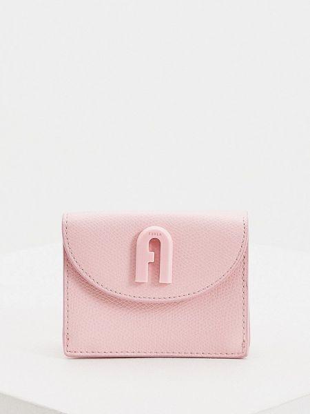 Кошелек розовый Furla