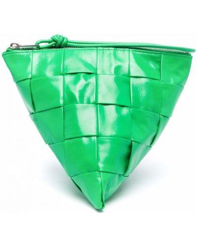 Torebka srebrna - zielona Bottega Veneta