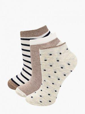 Белые разноцветные носки Women'secret