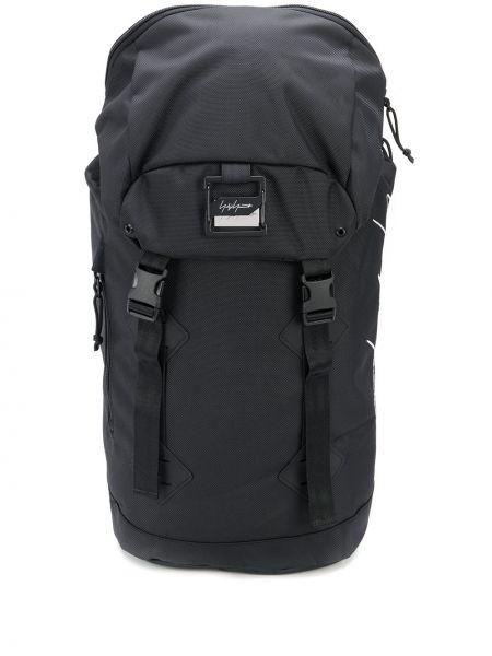 Czarny plecak klamry Yohji Yamamoto