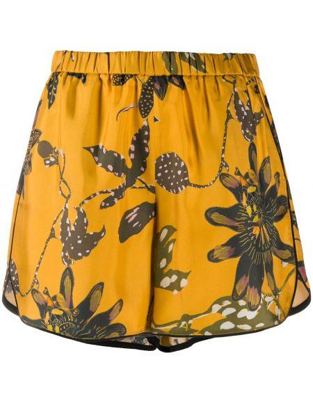 Желтые шорты Dorothee Schumacher
