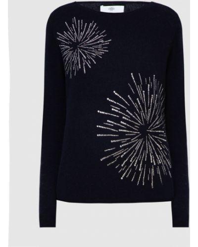 Кашемировый синий свитер Allude