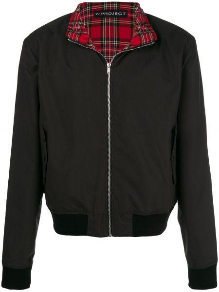 Черная куртка с манжетами Y/project