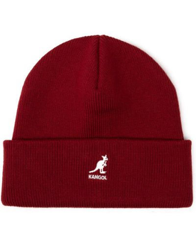 Czerwona czapka z akrylu Kangol